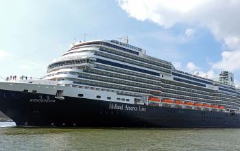 MS Koningsdam----Transatlantique de Rome à Miami----