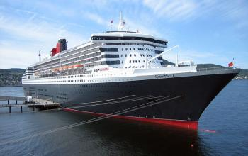 Queen Mary 2----Traversée transatlantique de New York à Southampton----